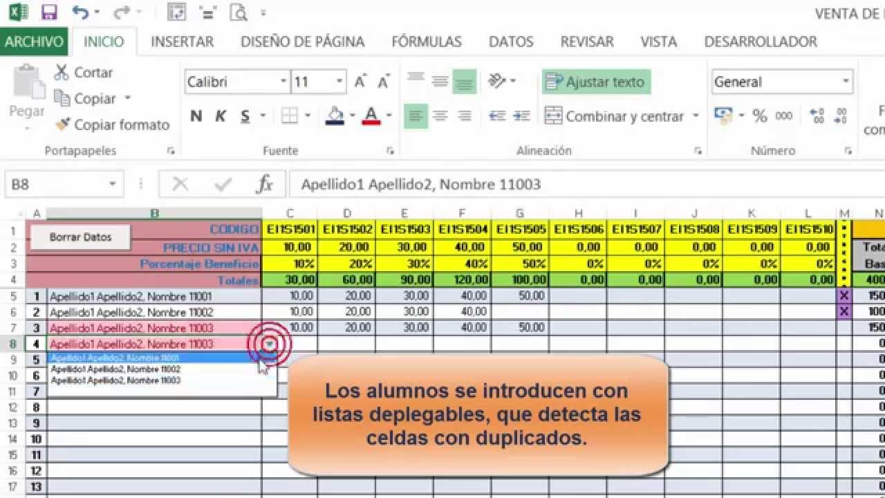 Control Venta Libros en Excel, descarga plantilla - YouTube