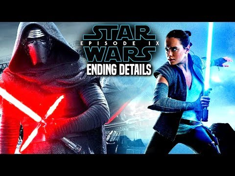 Star Wars Episode 9 Ending Leak! Kylo Ren & Rey (Star Wars News)