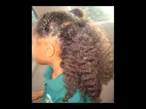 Kindergarten Natural Hair Styles Tips Tricks Youtube