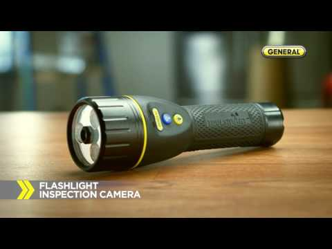 TOOLSMART Infrared Thermometer, Flashlight Inspection Camera