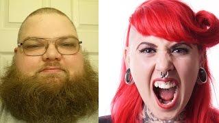 Neckbeard MRA vs. Crazy Feminist (DP)