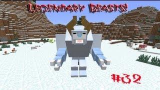 Обзор мода minecraft Легендарные Боссы (Legendary Beasts!) №32