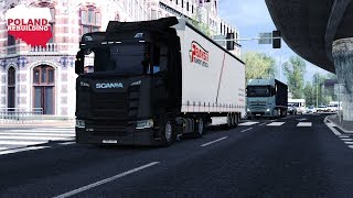 ETS2 1.31 - New Gen Scania S Series Low Deck - Poland to Sweden - Poland Rebuilding & ProMods