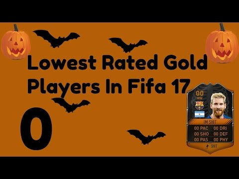 Lowest Rated Gold Players In Fifa 17