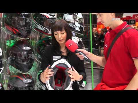 X-LITE X-802R Helmet News 2013 - Intermot 2012