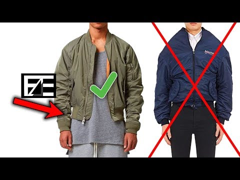How To PROPERLY STYLE A BOMBER JACKET