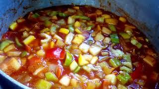 Кабачки на зиму.Салат овощной без стерилизации!