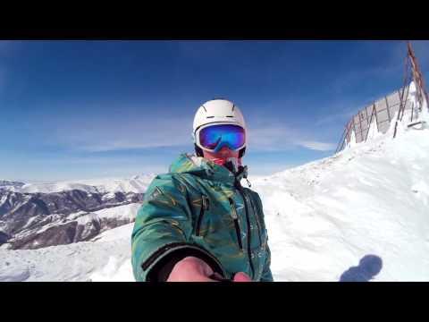 GoPro HD | Snowboarding in Tsaghkadzor /Цахкадзор