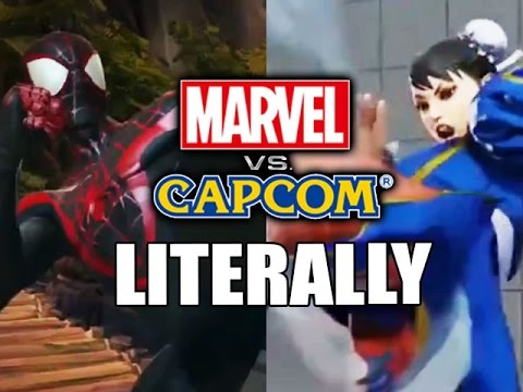 Literally Marvel vs Capcom. Marvel copying animations from Street Fighter for Marvel: Contest of Champions