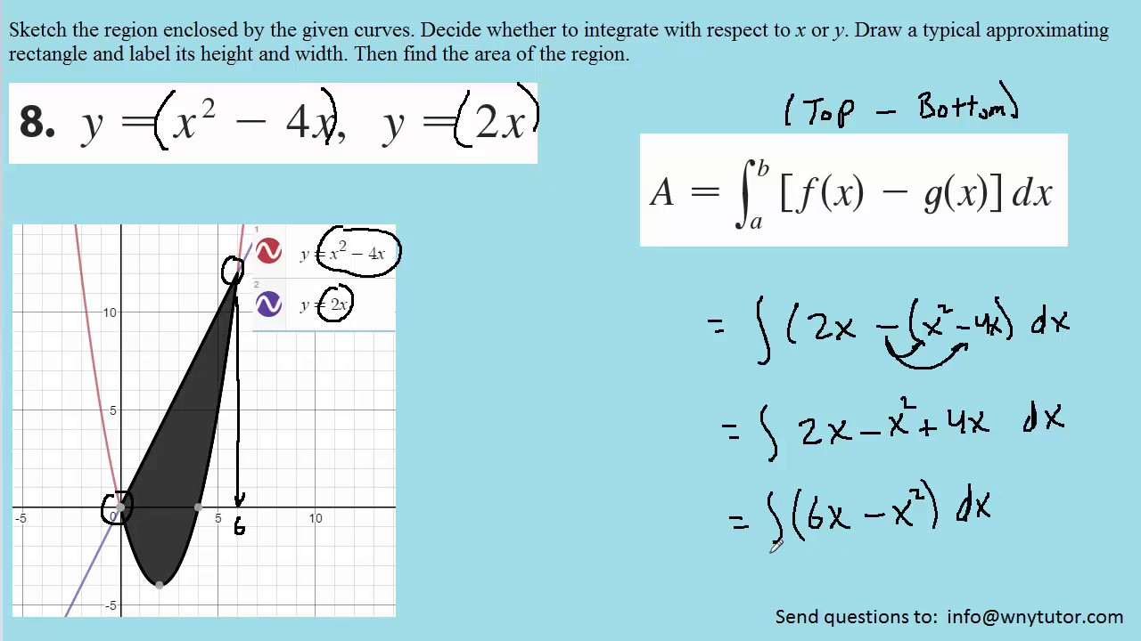 Stewart Calculus 8th Edition Solutions Chapter 6 1 8 Youtube