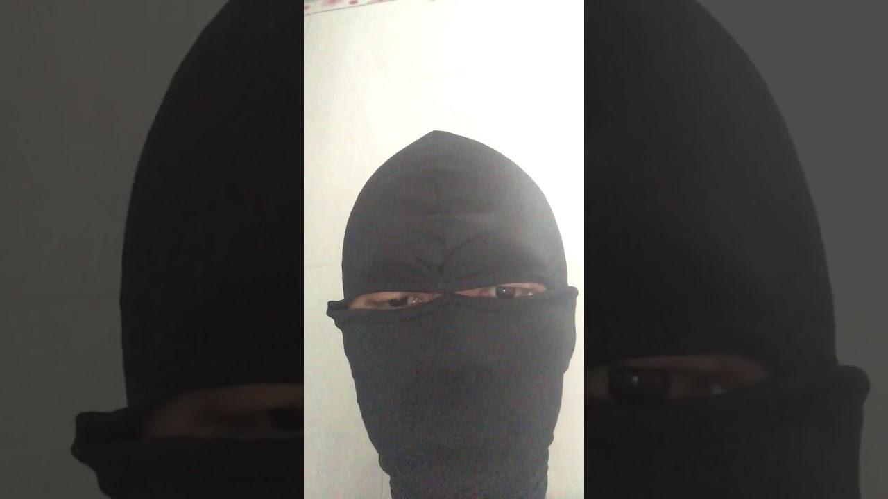 Unboxing Masked Balaclava 2 Holes Eye I Love It Youtube