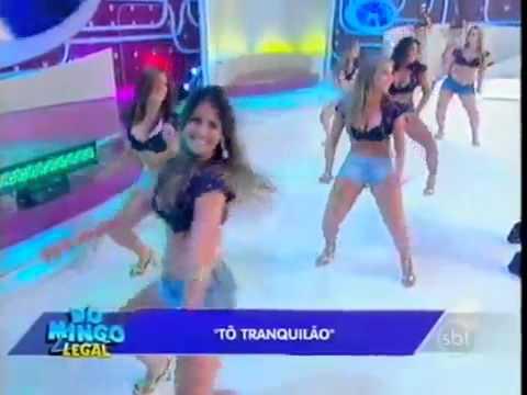 Domingo Legal Mc sapao to tranquilao ao vivo  10/02/2013 FÃS BALLET DO SBT I