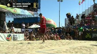 Lucena/Dalhausser vs Alison/Bruno Schmidt (1st place) LONG BEACH GS 2015