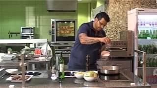 Рецепт от Азбуки Вкуса  печень по венециански