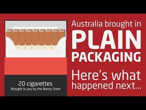 The failure of plain packaging