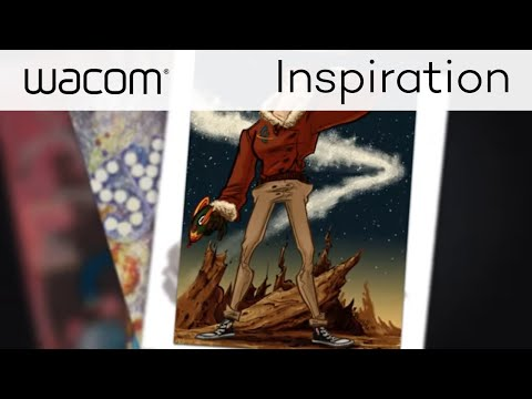 Wacom Create More | Comic Book Artist Brooke A. Allen Interview