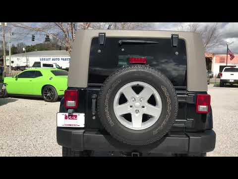 2007 Jeep Wrangler 2WD 4dr Unlimited Sahara Wholesale Solutions Loxley & Daphne Alabama