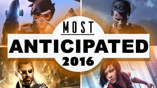 MOST ANTICIPATED GAME of 2016? - Dude Soup LIVE Podcast #48