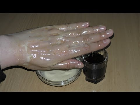 Маска для морщинистой и сухой кожи рук! Омолодит руки за несколько минут! Рецепт