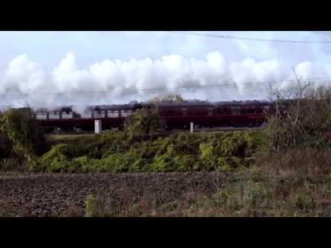 "Flying Scotsman 11th November 2017 ""East Anglian Morning Flyer"""
