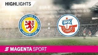Eintracht Braunschweig - Hansa Rostock   Spieltag 8, 19/20   MAGENTA SPORT