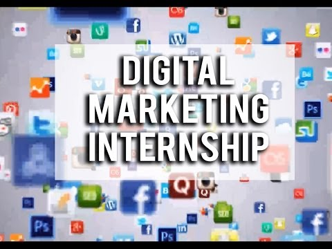 Digital Marketing Internship & Social Media and Internet Marketing Certification