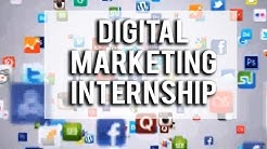 Digital Marketing Internship & Social Media and Internet Marketing Certification