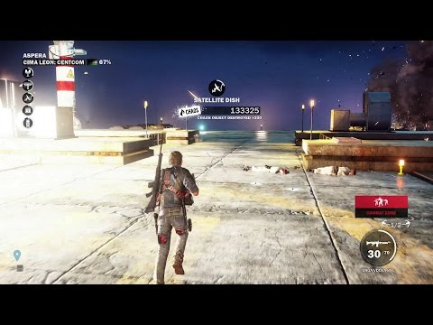 Just Cause 3 Walkthrough- How to Liberate Cima Leon: Centcom