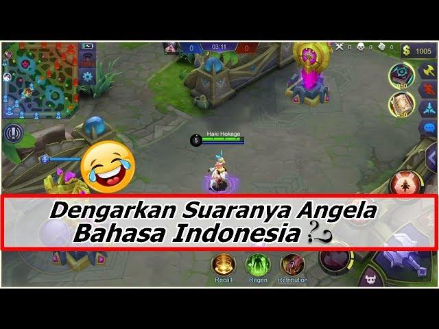 Suara Hero Angela Ada Bahasa Indonesianya ? Dengarkan Baik Baik