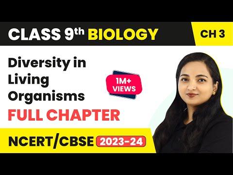 Diversity in Living Organisms Full Chapter Class 9 Biology | CBSE Class 9 Biology
