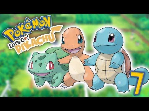 TODOS LOS STARTERS! Pokemon Lets Go! E7 - Luzu thumbnail