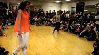 Homeland Jam 2012: Marie Poppins vs. Lily Breeze (Whaacking Top 16)