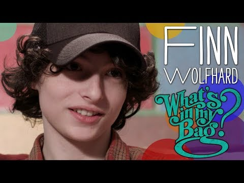 Finn Wolfhard - What's in My Bag?