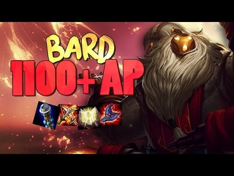 BARD 1000+ AP Mid - League of Legends