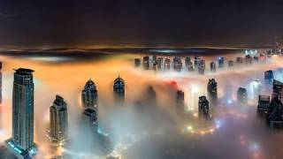 Heavenly Dubai! Incredible snaps taken from world's tallest towers show desert city's skyscrapers
