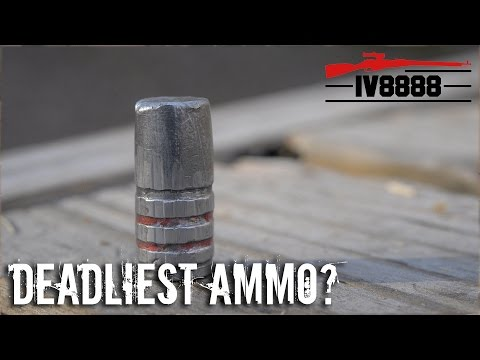 Cast Lead: The World's Deadliest Ammo?