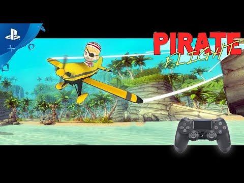 Pirate Flight (VR) / Ps4 Pro / PSVR ... hands on / deutsch / german