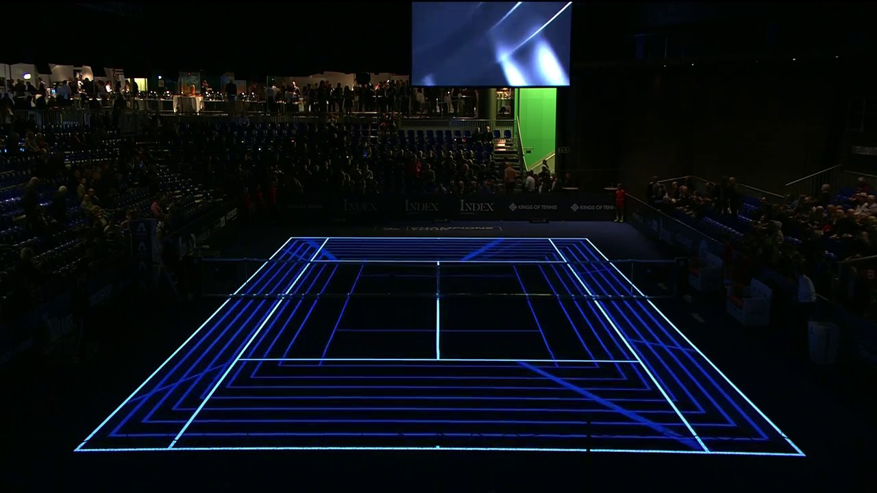 Laser Light Tennis