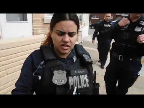 RACIAL PROFILING TRENTON POLICE HARASSMENT STATED THAT I HAD A GUN AND FIT THE DESCRIPTION