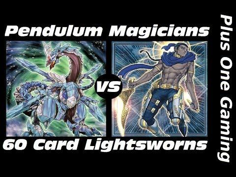 Yu-Gi-Oh! Pendulum Magicians vs 60 Card Lightsworns - Plus One Gaming Feature Match
