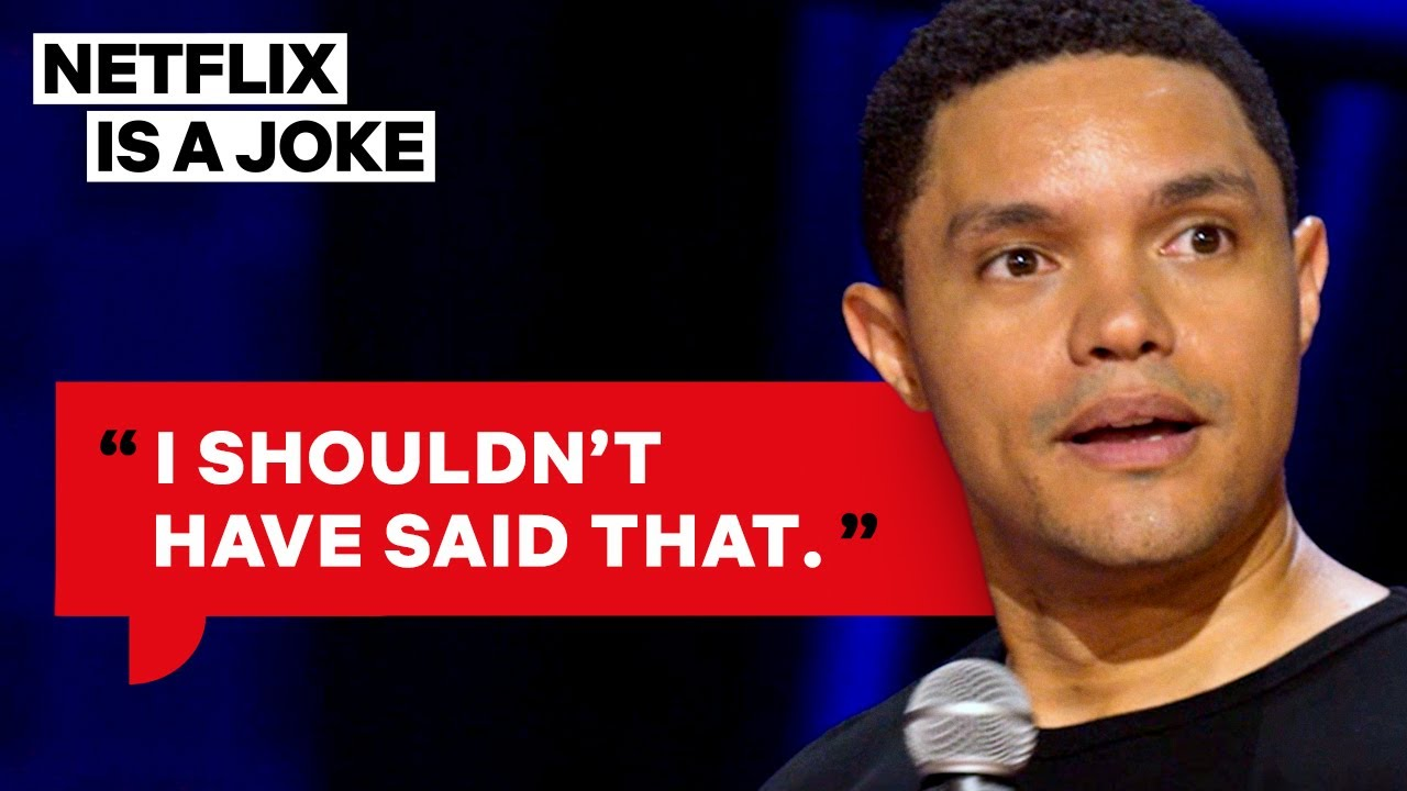 Trevor Noah Met President Obama | Netflix Is A Joke