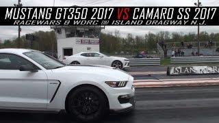 Mustang GT350 2017 vs Camaro SS 2017