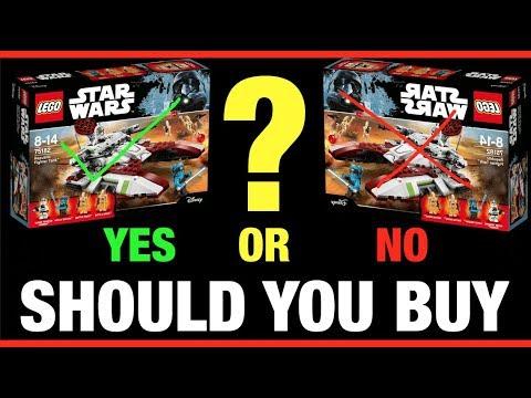 SHOULD YOU BUY Lego Star Wars 75182 Republic Fighter Tank