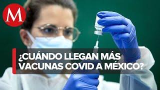 Ssa presenta calendario de llegada de vacunas anticovid