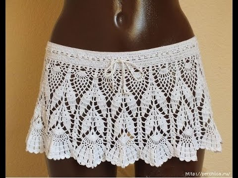 Crochet Skirt Free Crochet Patterns 368 Youtube