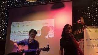 Ngẫu hứng phố - Thùy Trang ft Phạm Vũ Live Acoustic at C La Coffee