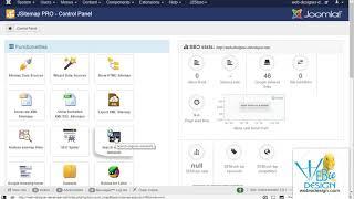 Using JSitemap Pro to manage Meta Information