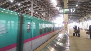 北海道・東北新幹線 はやぶさ18号 東京行き  E5系  2019.12.14