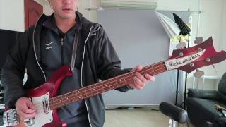 The Byrds - You Ain't Going Nowhere - bass part by Chris Hillman