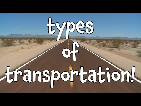 Types of Transportation! Learning Modes of Transport for Kids